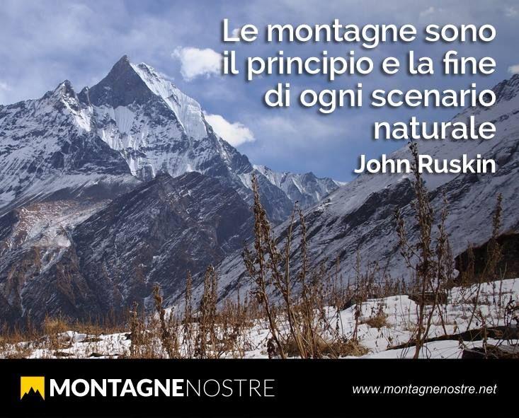 Aforisma sulla montagna da condividere con i tuoi amici. Grazie da Montagne Nostre