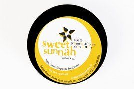 Shea Butter Plain & Pure No Odor- 6 oz. by Sweet Sunnah. $8.00. Our plain and pure wildcrafted shea butter is amazing . Shea Butter, used in Africa for centuries, has a wide range of amazing healing properties stemming from its physical make up of vitamins A, E, and cinnamic acid, just to name a few. Shea butter has been shown to have anti-inflammatory capabilities and has been utilized for these benefits for hundreds of years. It has been shown to increase the he...