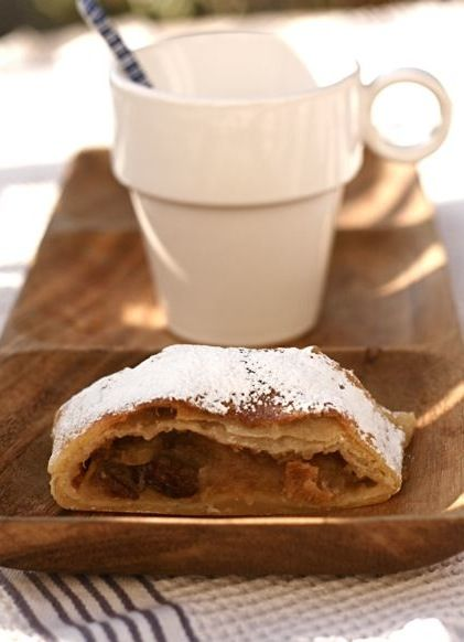 The Hungarian Pantry: Almás rétes Apple strudel