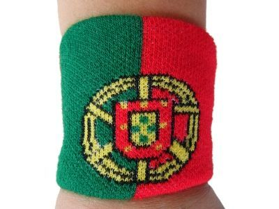 PORTUGAL PORTUGUESE COUNTRY FLAG WRISTBAND SOCCER SPORT