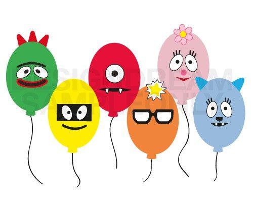 Balloon Face Printables