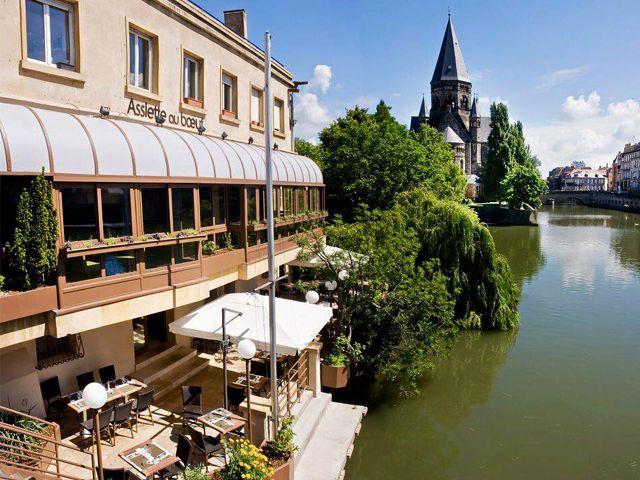 Restaurant terrasse Metz - L'assiette de boeuf
