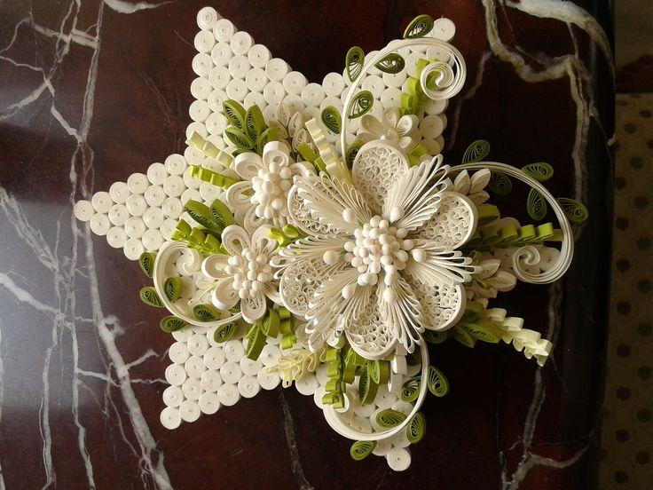 quilled star box....work by Kinnari Gada