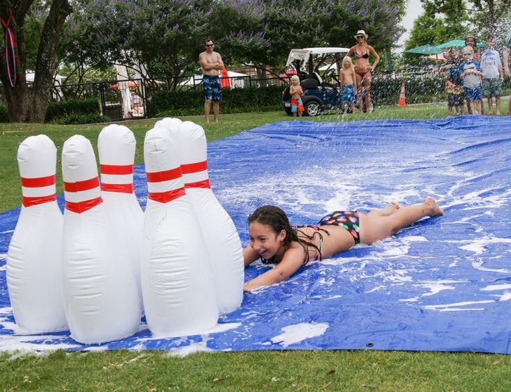Adult slip in slide