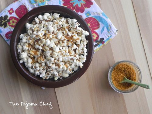SRC: Coconut Curry Popcorn | Yummy Foods/Cooking Products | Pinterest