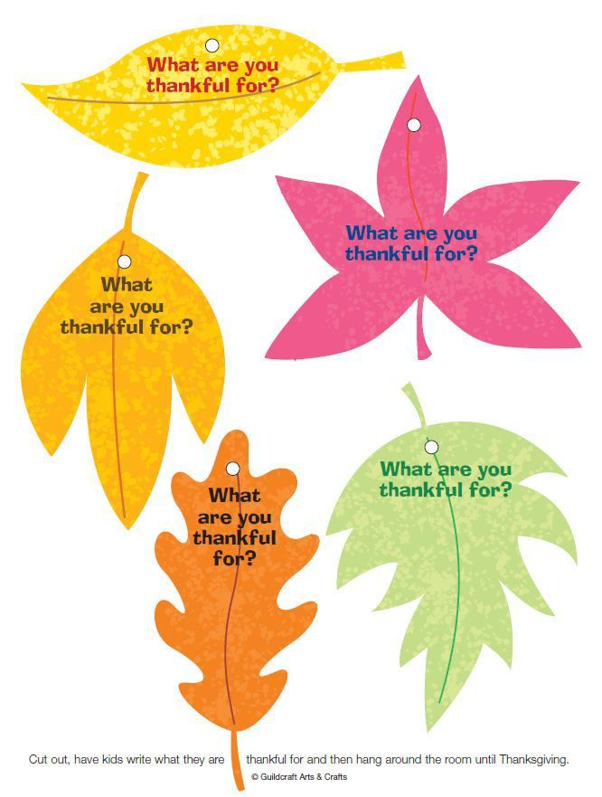 THANKFUL LEAVES~  Pint out, have students fill in the things for which they are appreciative, and then hang for a pretty display.