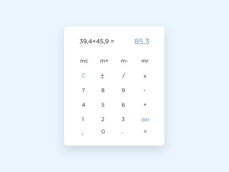 Calculator  Day 002 by Emre Karatas
