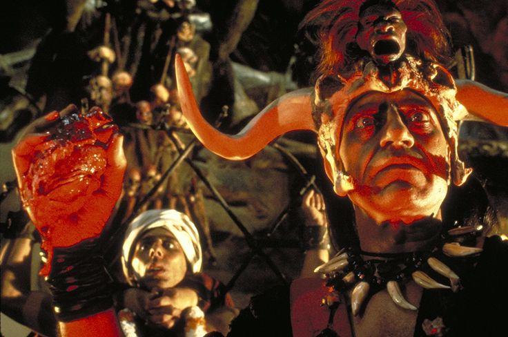 Nizwar Karanj & Amrish Puri in #IndianaJones & the Temple of Doom (1984).