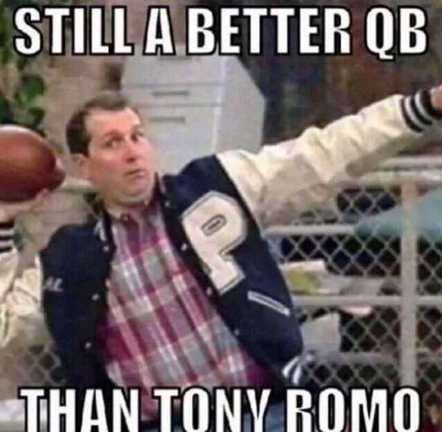 Tony Romo #LOL