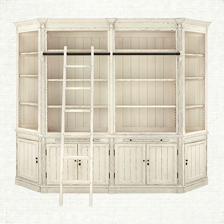 Athens Library from Arhaus.  Can we customize the paint?  Library bar?  Height should be ok.  Uneven floor a concern.