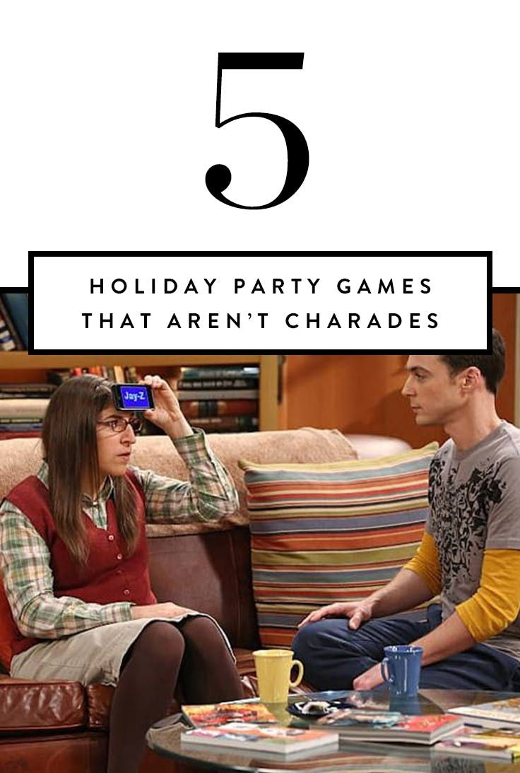 5 Holiday Party Games That Aren't Charades