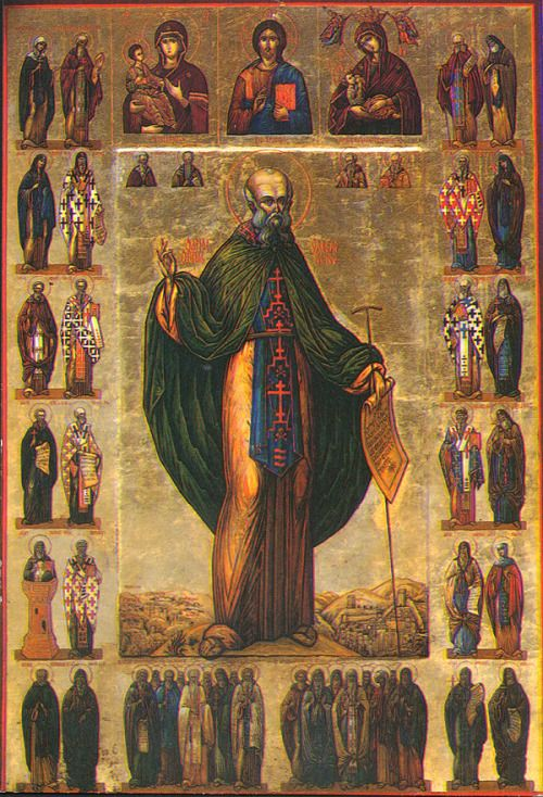 Saint Sabbas the Sanctified, ora pro nobis!