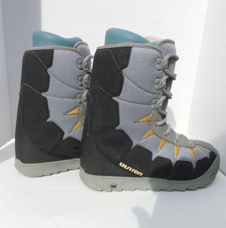 Burton Moto Snowboard Snowboarding Boots Mens SZ Size 7 - Free Shipping #Burton
