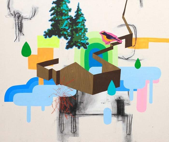 James Kudo Sem título 2008 acrílica sobre tela 100 x 120 cm