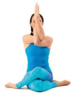 gomukhasanawithgarudasanaarms  yoga poses advanced