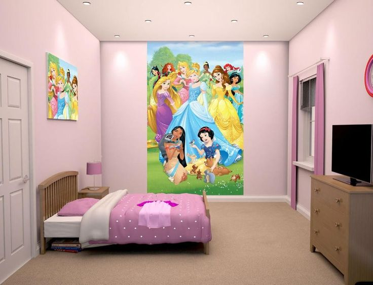 Wandbild Disney Princess