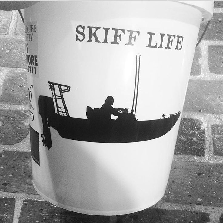 Boat Decals for Bait Buckets! - http://www.skifflife.com/2528345/boat-decals-for-bait-buckets/