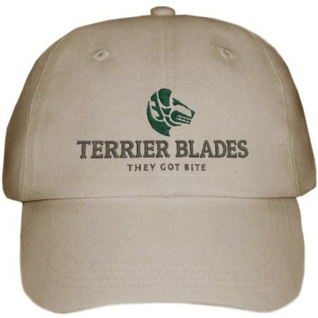 NEW!!! Ball caps with the popular Terrier Blades logo...They got bite!