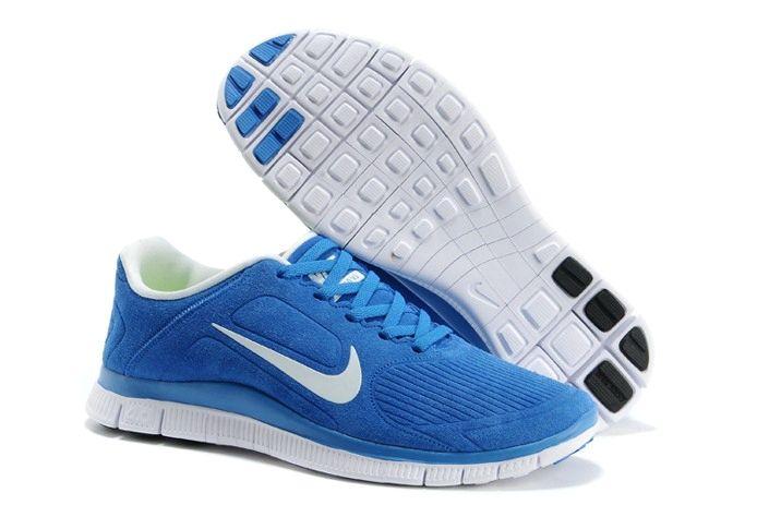 Nike Men's Free 4.0 V5 Running Shoes 717988 001 BlackWhite Size 9