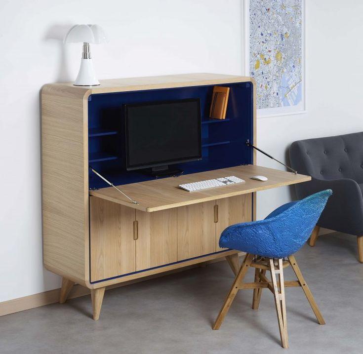 Cosy Korner, le mobilier qui se transforme en bureau