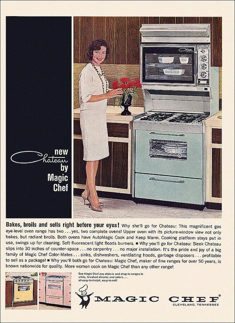 magic chef oven ad circa - Magic Chef Oven