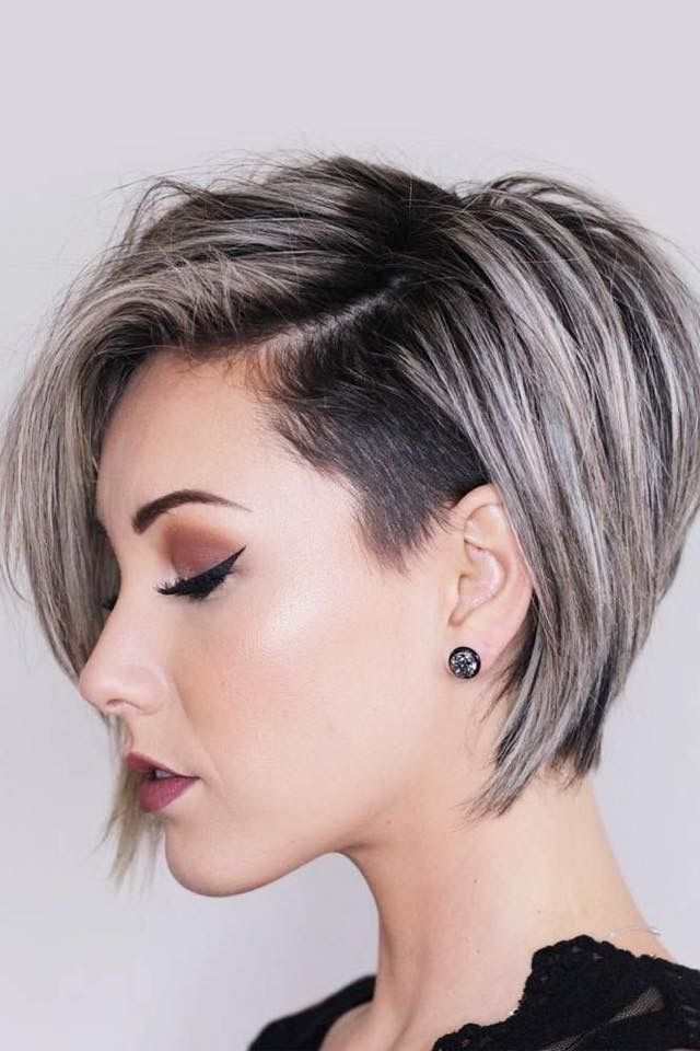 Pin By Adriane Delullo On My Style With Images Short Hair With Layers Thick Hair Styles Girls Short Haircuts