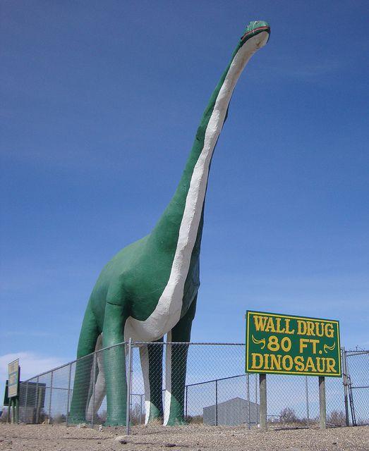 Wall Drug Dinosaur (Wall, South Dakota)