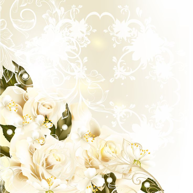floral wedding background for your virtual wedding album by. Black Bedroom Furniture Sets. Home Design Ideas