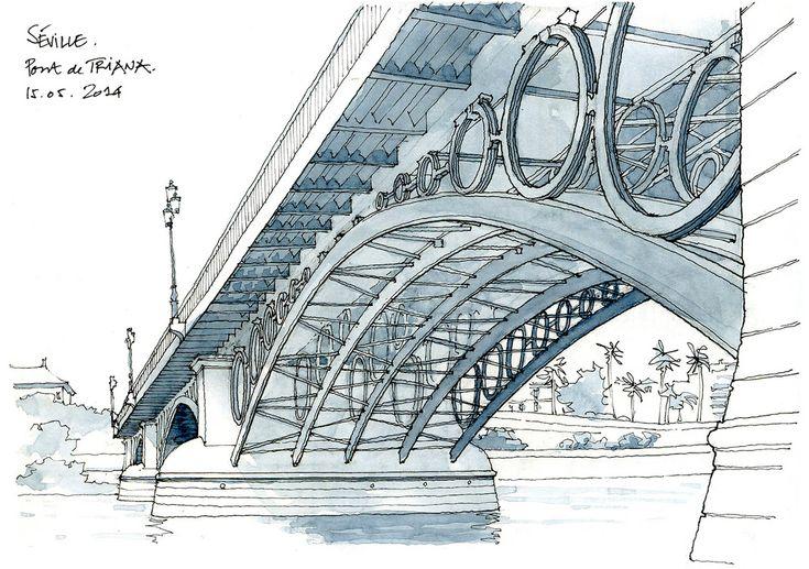 Séville, pont de Triana