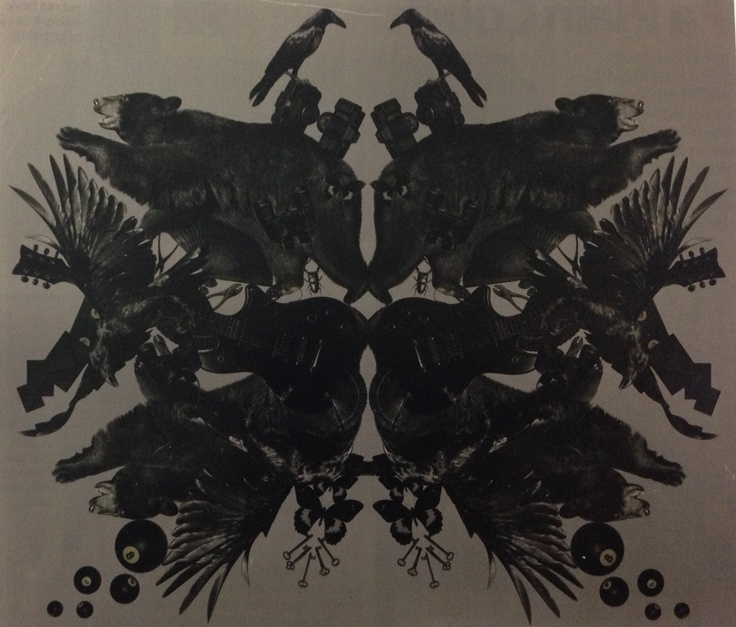 Crows art for a textile print?