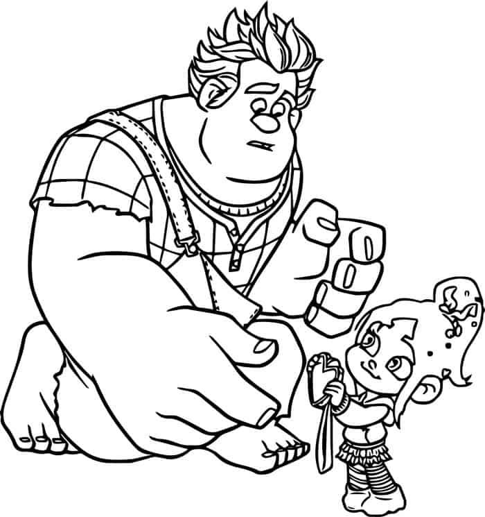 Wreck It Ralph Coloring Book Pages Disney Princess Coloring Pages Princess Coloring Pages Disney Coloring Pages