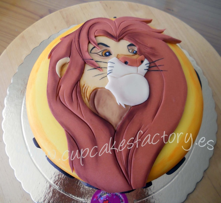 "Lion King Cake | Cupcakes Factory... ""El Blog"": Tarta Rey Leon / Lion King Cake"
