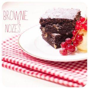 Brownie de Nozes - Receitas de Bolo - I COULD KILL FOR DESSERT
