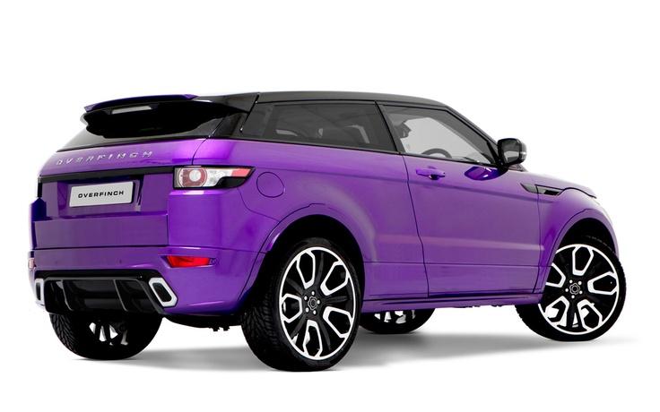 Overfinch Range Rover Evoque GTS rear three quarter view