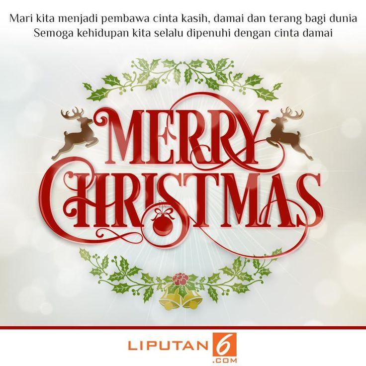 Ucapan Natal dari Liputan6.com