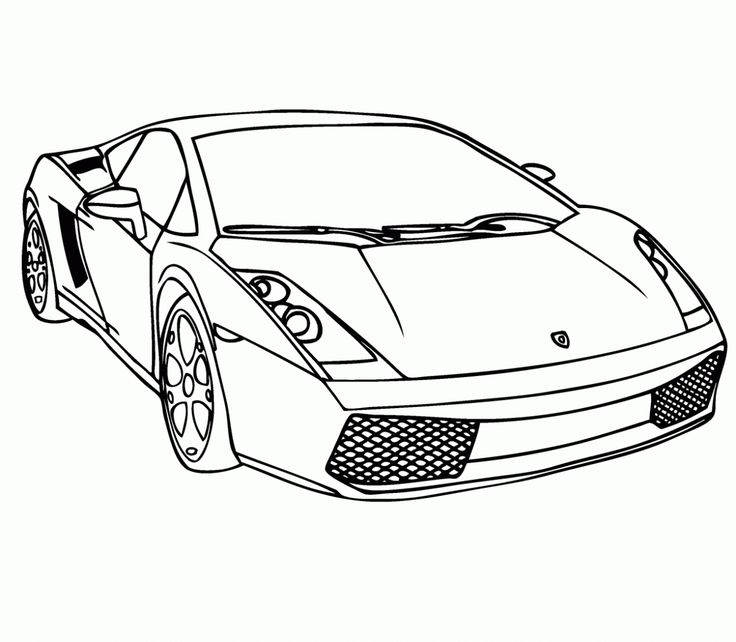 Malvorlagen autos gratis - Dibujos para colorear - IMAGIXS