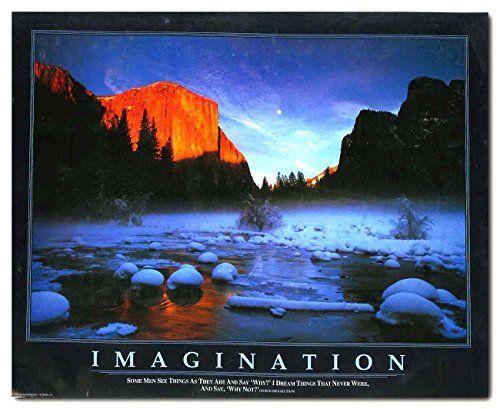 Snow Mountain Lake Sunset Scenery Nature Landscape Wall D...…
