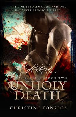 UnHoly Death    Title: UnHoly Death  Author: Christine Fonseca  Genre: YA Gothic Romance  Hosted by: Lady Ambers PR  Blurb: Aydan wants to believe Nesy has returned to him in Vanessa. But her lack of memories and incessant nightmares begin to erode his faith. Zane is used to trusting his mind his wisdom and his angelic senses. But these attributes are no help with Vanessa. He has no way to be certain of her true identity. That is unless he listens to the one thing he has refused to…