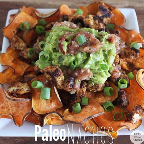Paleo Nachos. Going for comfort food this week!