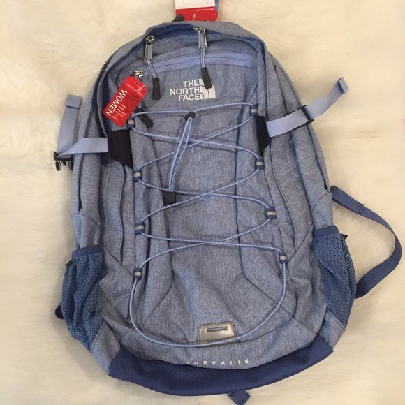 The North Face Women's Borealis New with tags, never been used. Has a lot of compartments. Perfect for school, work, hiking, etc. No trades! Rare backpack. The North Face Bags Backpacks