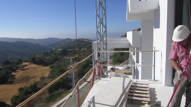Monte Mayor villa for sale. Plot D6. August 2012 progress report