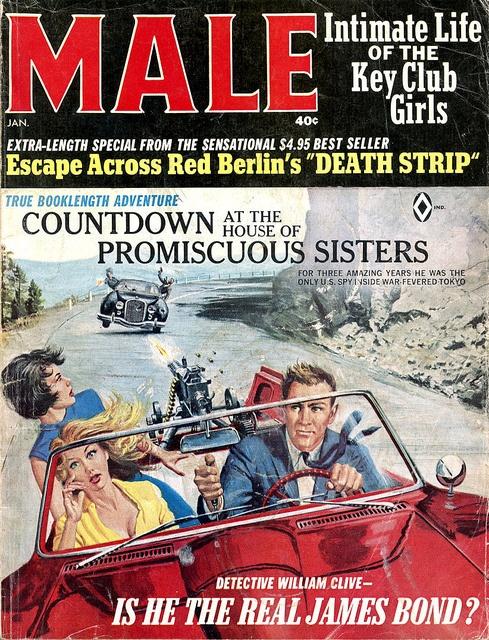 Male magazine, Jan. 1966 - www.MensPulpMags.com by SubtropicBob, via Flickr
