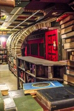 The Last Bookstore in Los Angeles California. It is one of the coolest bookstores in the United States, and is a must visit while on your California vacation.