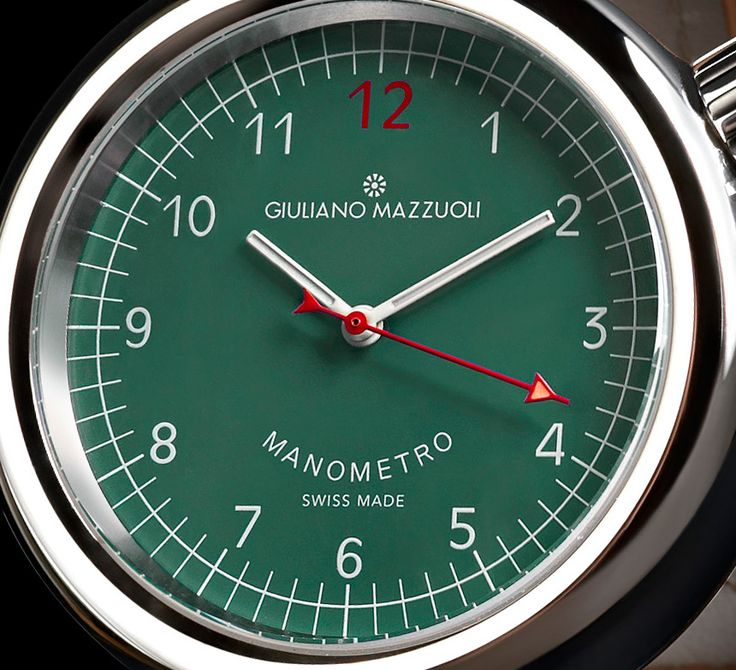 "Giuliano Mazzuoli Manometro Watch With New Dial Colors - by Michael Penate - More on this automotive-inspired collection at: aBlogtoWatch.com - ""Every once in a while, you encounter a watch that really showcases a true degree of genuine inspiration behind its design. It's a refreshing experience and something we recognize from other Giuliano Mazzuoli watches. Whether it's a sporty tachometer or a complex transmission system that ignites his imagination..."""