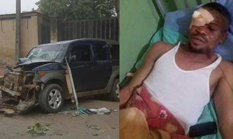 Popular Jenifa Diaries Actor Hospitalized After A Fatal Car Accident [Photos]