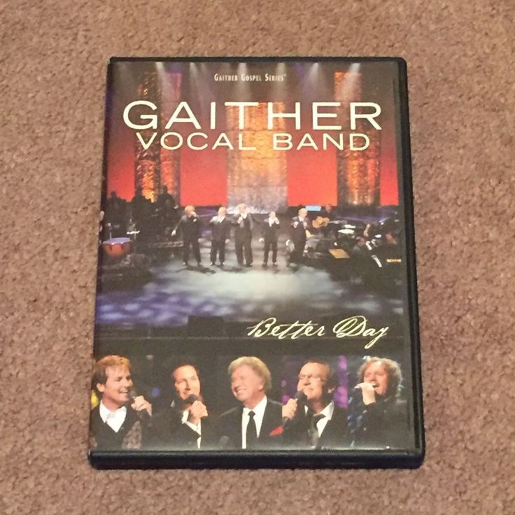 Gaither Vocal Band Better Day Gaither Gospel Series (DVD, Music Video, Christian
