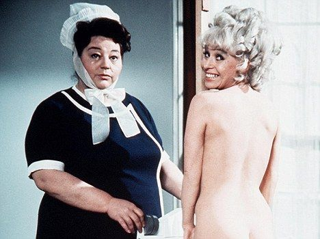 Hattie Jacques and Barbara Windsor in Carry On Doctor