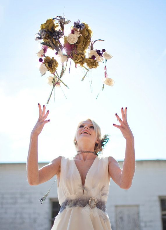 """""""fortune"""" bouquet...build the brides bouquet out of several mini bouquets that have quotes, verses, special notes of loving advice for those who catch them...if you don't want do the traditional bouquet toss you can personalize them and pass them out instead"""