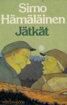 Simo Hämäläinen: Jätkät | Kirjasampo.fi - kirjallisuuden kotisivu