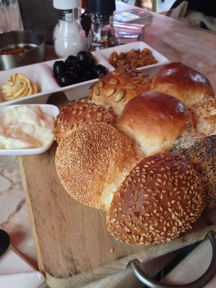 Delicious Bread and some tapas at restaurant Brooklyn, Middelburg, the Netherlands